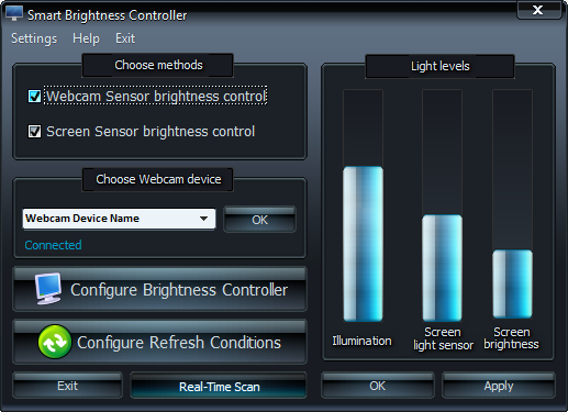 Smart Brightness Controller Screenshot 2
