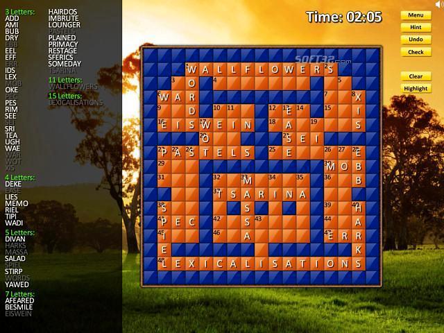 Crossword Twist (Mac) Screenshot 2