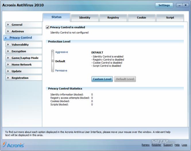 Acronis Antivirus Screenshot 5