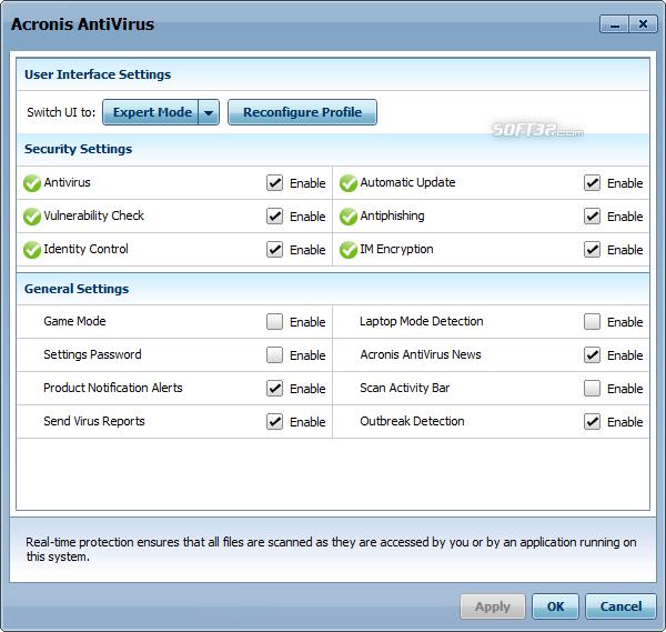 Acronis Antivirus Screenshot 6