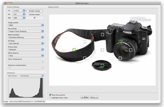 DSLR Assistant Screenshot 2