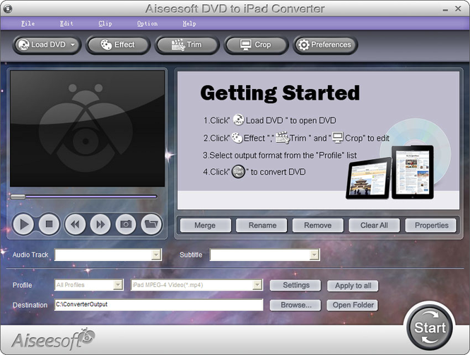 Aiseesoft DVD to iPad Converter Screenshot 4