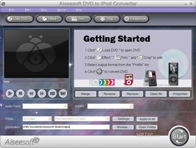 Aiseesoft DVD to iPad Converter Screenshot 2