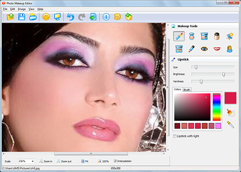Photo Makeup Editor Screenshot 1