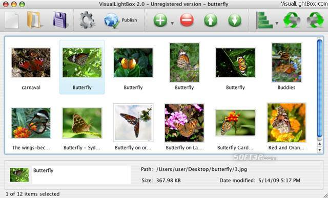 Flickr Gallery for Mac OS Screenshot 2