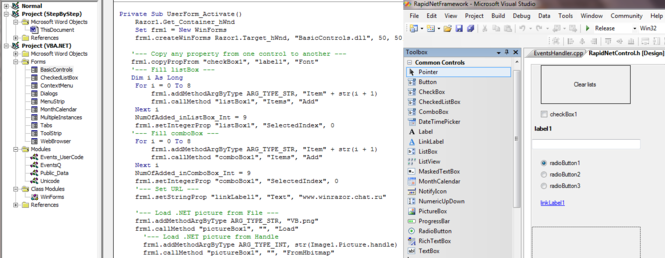 .Net bridge for VBA Screenshot 1