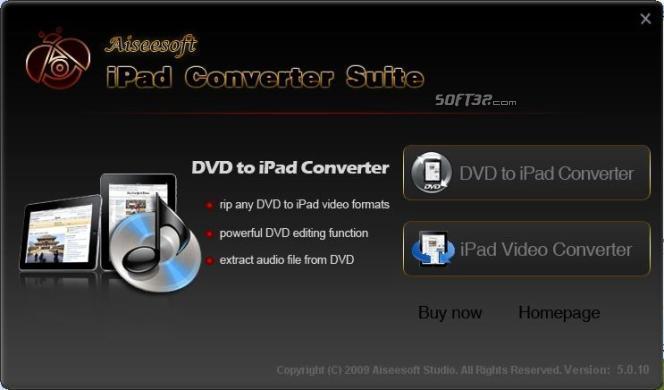 Aiseesoft iPad Converter Suite Screenshot 4