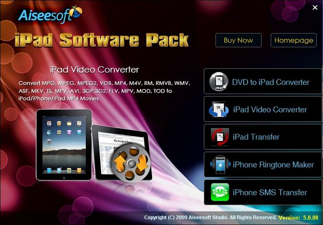 Aiseesoft iPad Software Pack Screenshot 2