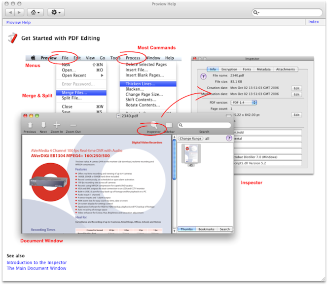 Proview PDF Editor Screenshot