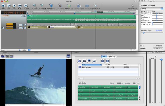 Sonicfire Pro 5 Scoring Edition (Mac OS) Screenshot 2