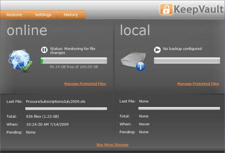 KeepVault Screenshot