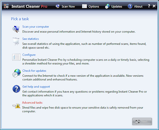 Instant Cleaner Pro Screenshot 1