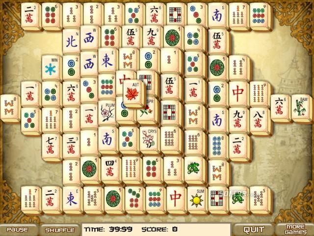 Old Mahjong Screenshot 2