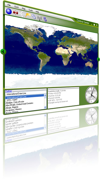 World Time Manager Screenshot