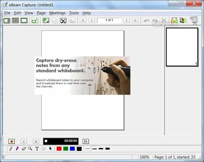 Interactive Whiteboard eBeam Capture Screenshot 2