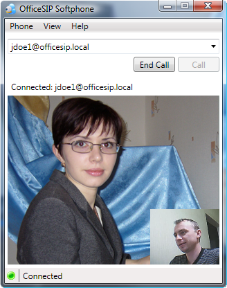 OfficeSIP Softphone Screenshot 1