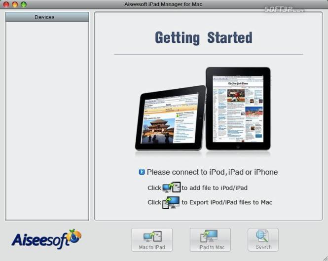Aiseesoft iPad Manager for Mac Screenshot 4