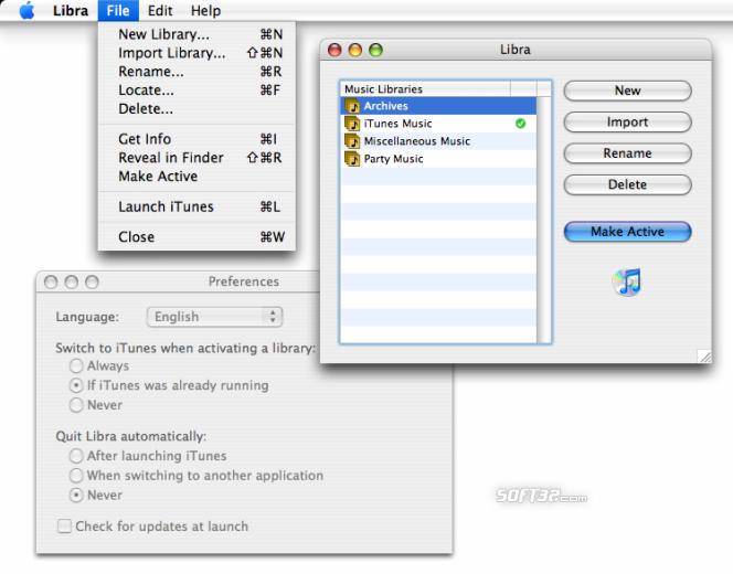 Libra Screenshot