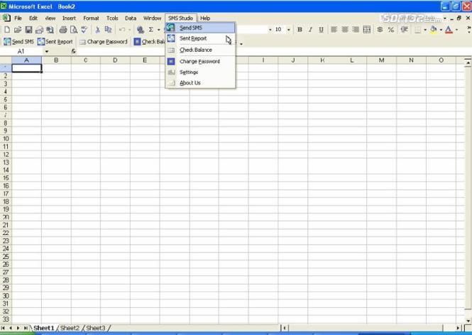 SMS Excel Plugin Screenshot 2