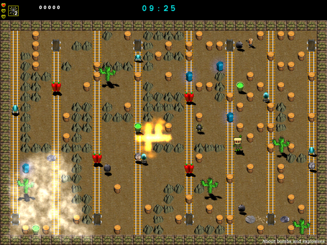 About Bombs and Explosives Screenshot