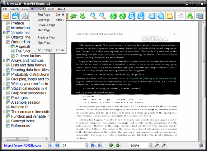 Free PDF Reader Screenshot 3