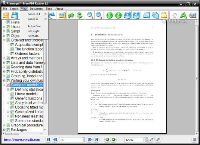 Free PDF Reader Screenshot 4