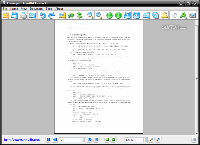 Free PDF Reader Screenshot 5