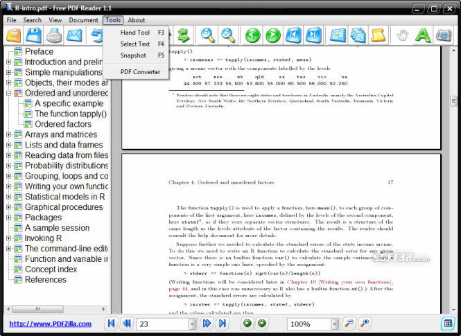 Free PDF Reader Screenshot 2