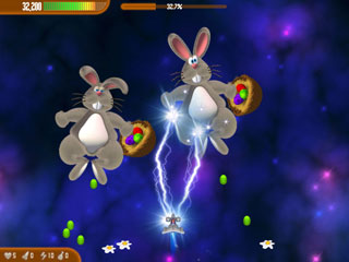Chicken Invaders 3 Easter Edition Screenshot