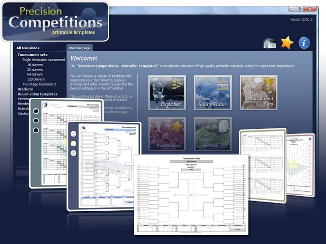 Precision Competitions Screenshot