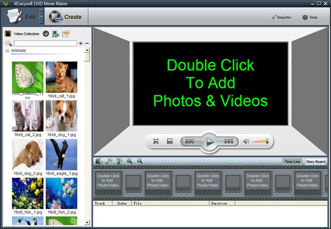 4Easysoft DVD Movie Maker Screenshot
