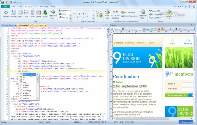 mirabyte Web Architect Screenshot 2