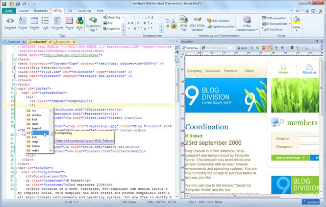 mirabyte Web Architect Screenshot 1