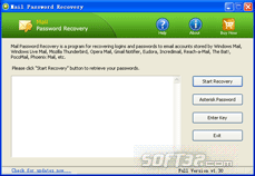 Mail Password Recovery Screenshot 2