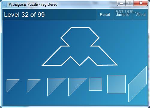 Pythagoras Puzzle Screenshot