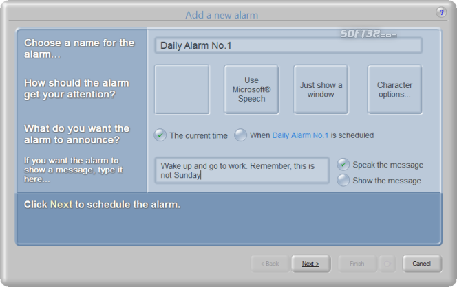 Talking Alarm Clock Screenshot 3