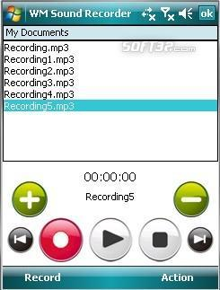 WM Sound Recorder Screenshot 2