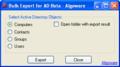 Algoware Active Directory Export Tool 1