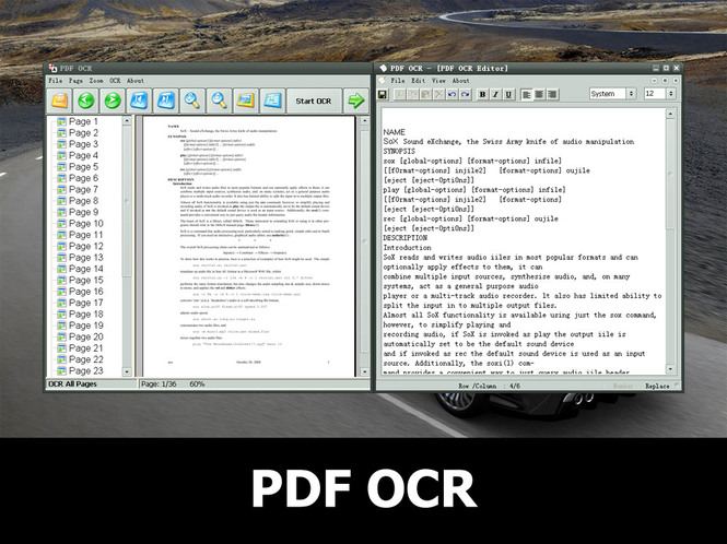 PDF OCR Screenshot
