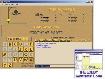 Tams11 Hangman Screenshot 2
