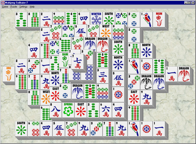 Mahjong Solitaire-7 Screenshot 1