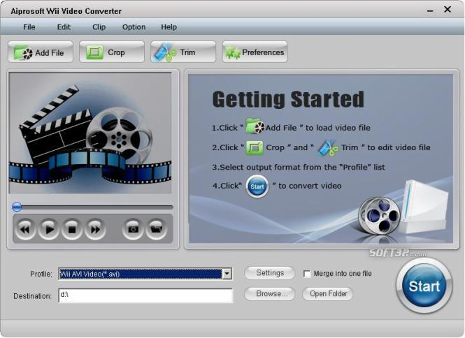 Aiprosoft Wii Video Converter Screenshot 3