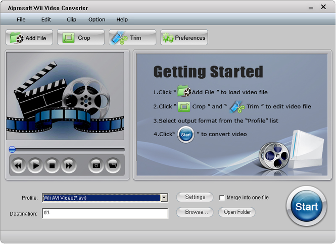 Aiprosoft Wii Video Converter Screenshot