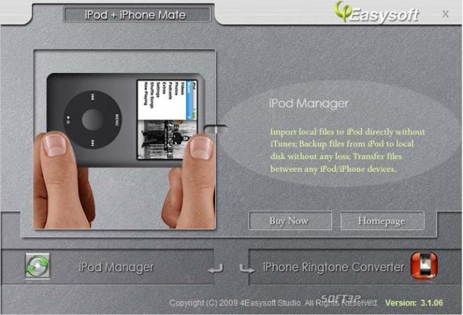 4Easysoft iPod + iPhone Mate Screenshot 3