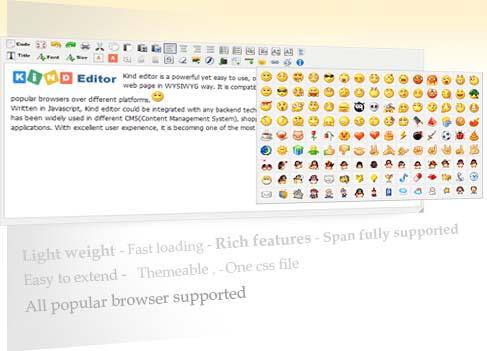 Kind Editor-Web WYSIWYG Online Editor Screenshot 1