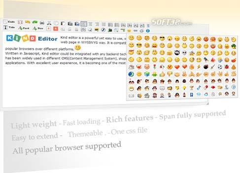 Kind Editor-Web WYSIWYG Online Editor Screenshot 3