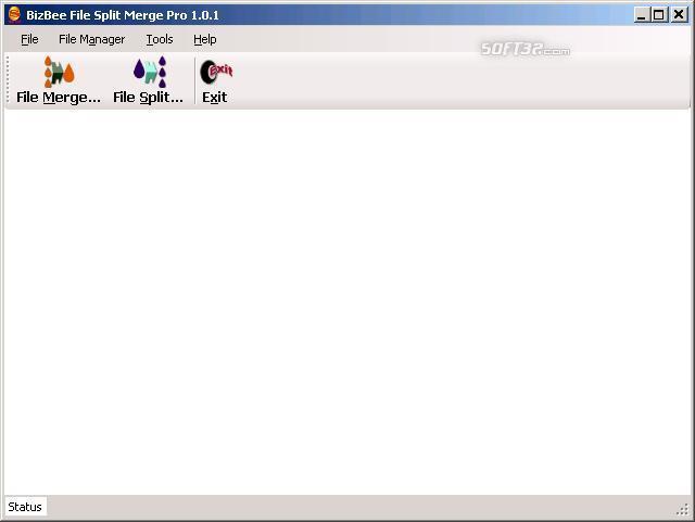 BizBee File Split Merge Pro Screenshot 3