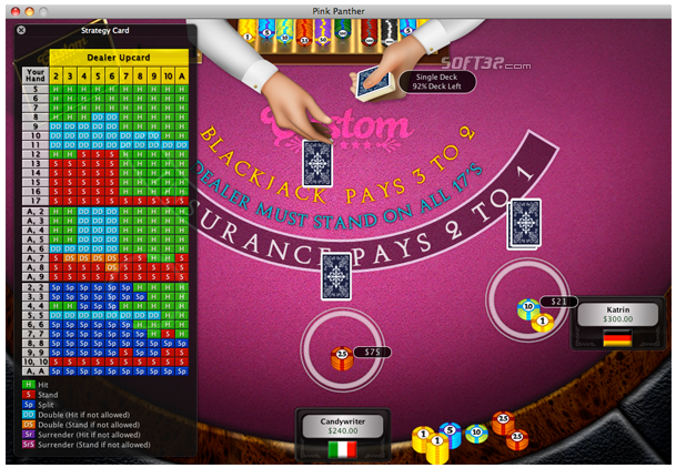 World of Blackjack Screenshot 2