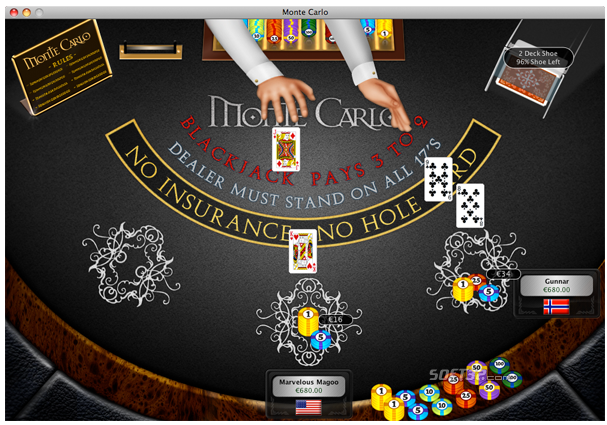 World of Blackjack Screenshot