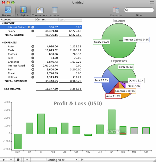 moneyGuru Screenshot 2